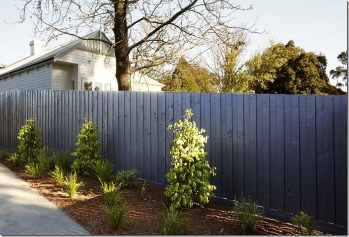 5 Blue fence