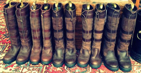 Country Boots at Chelsea Flower Show