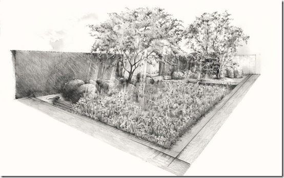 Chelsea Flower Show 2014 The Laurent Perrier Garden a Time to Reflect