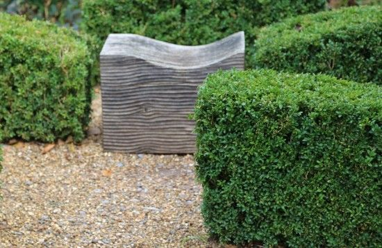 Buxus sculpture