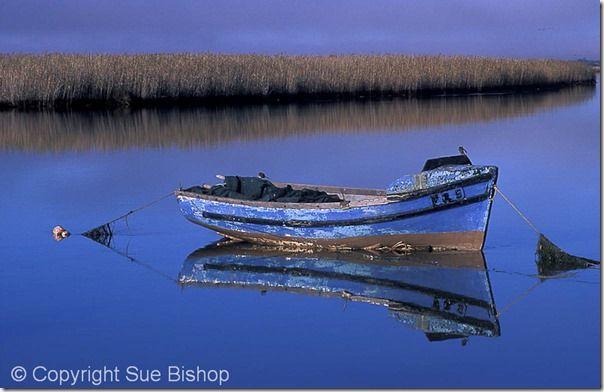 108 blue boat