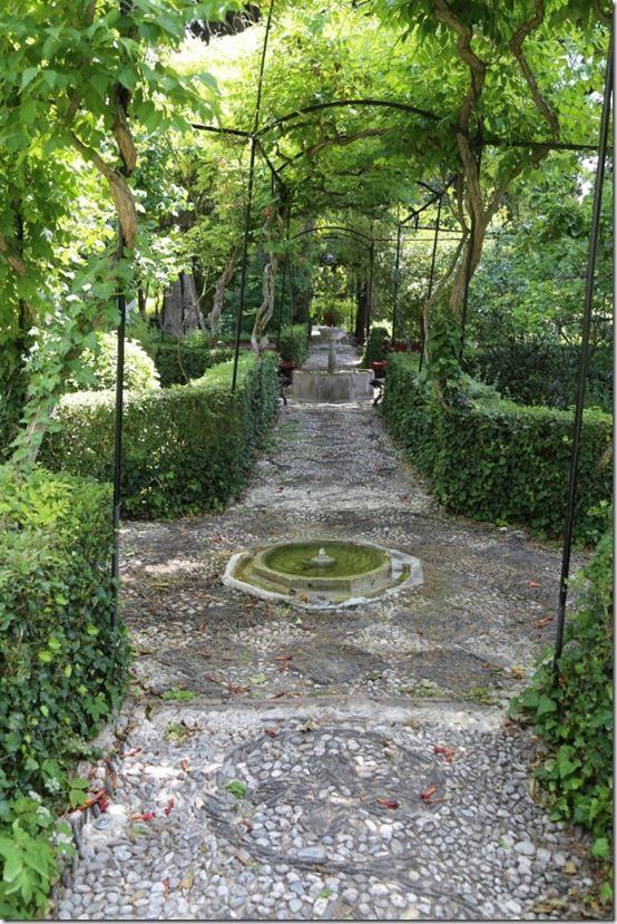 4 Vista through the garden