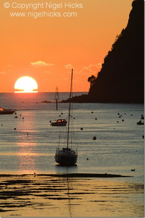 Teignmouth sunrise, Devon, Great Britain. Travel Photography, holiday photography Tips, travel Photography class, travel photography Course, Nigel Hicks, travel photography tips