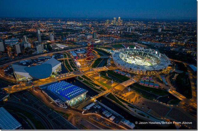 The London 2012 Olympic games start this week by photographer Jason Hawkes