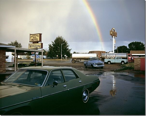 Stephen Shore, Horseshoe Bend Motel, Lovell, Wyoming, July 16, 1973