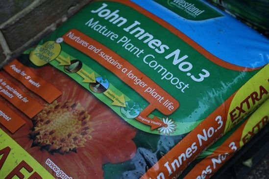8 Loam based potting mix