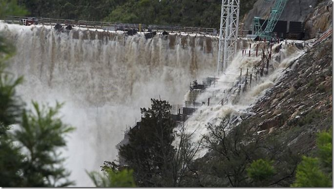 floods in the Australian states of New South Wales and Queensland