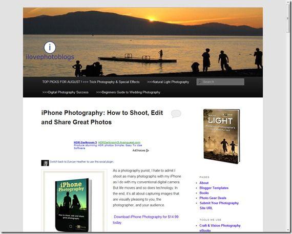 I Love Photo Blogs