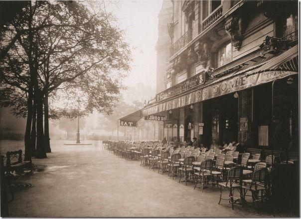 Eugene Atget - Cafe