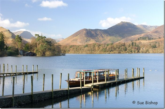 launch on derwentwater