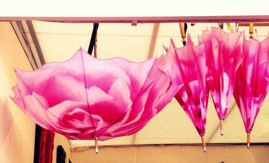 Chelsea Flower Show Umbrellas