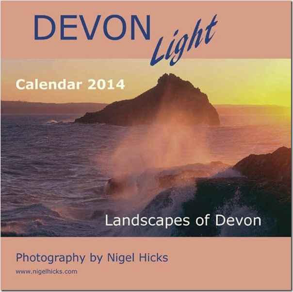 calendars, How to publish a calendar, How to Publish a Photography Calendar, Higel Hicks Dorcet Light, Somerset Light, Devon Light,
