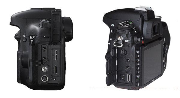 Nikon D750 v Canon 7D Mark II d