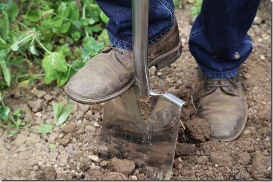 pic. 2 Treaded digging spade