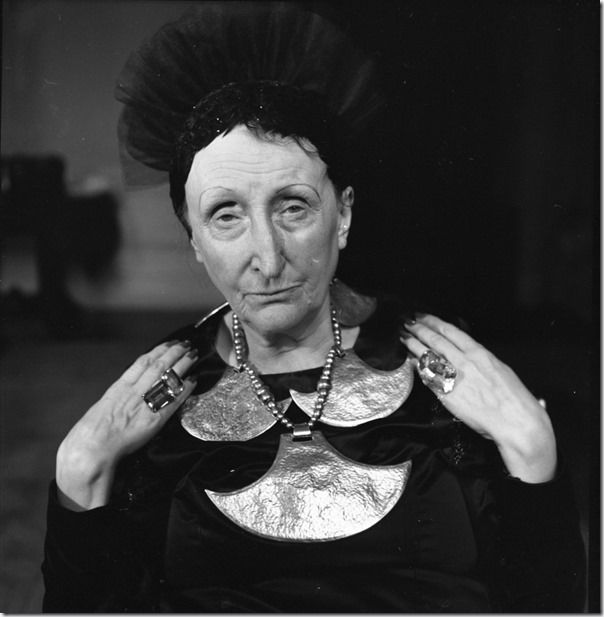 Dame Edith Sitwell, 1959