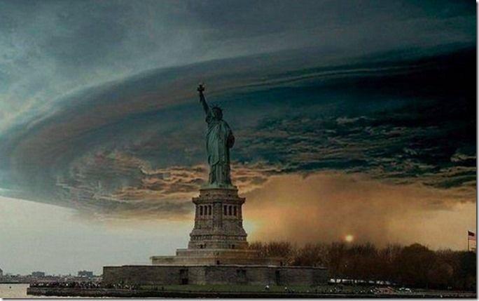 Hurricane Sandy Wreaks Havoc