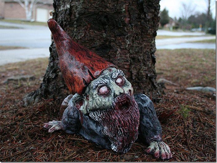 9 Zombie gnome