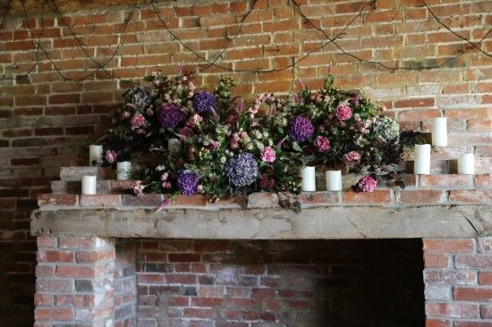 flowers for the fireplace