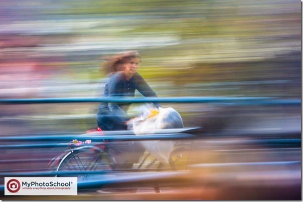Panning, Photography, shutter speed, moving, shooting mode, Focus Mode, bicycle, movement, action, shot, blurred,