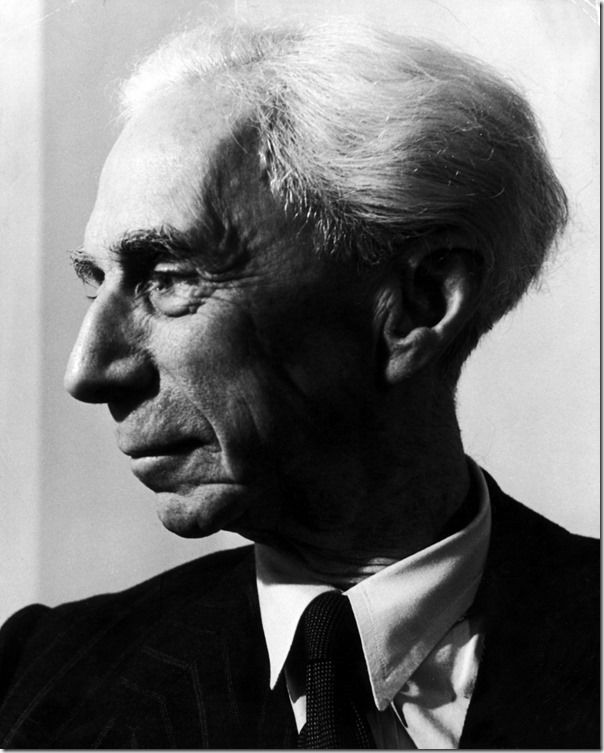 Bertrand Russell, 1949