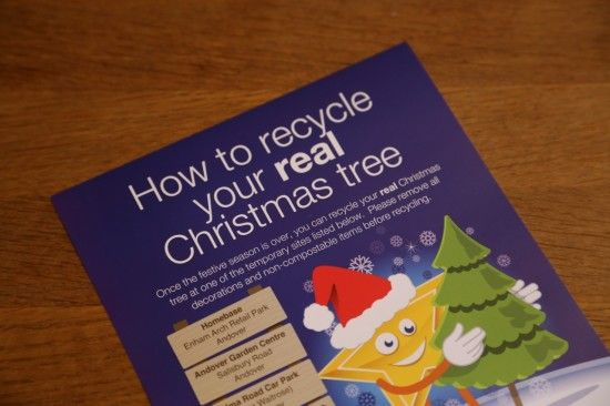 6 Christmas tree recycling