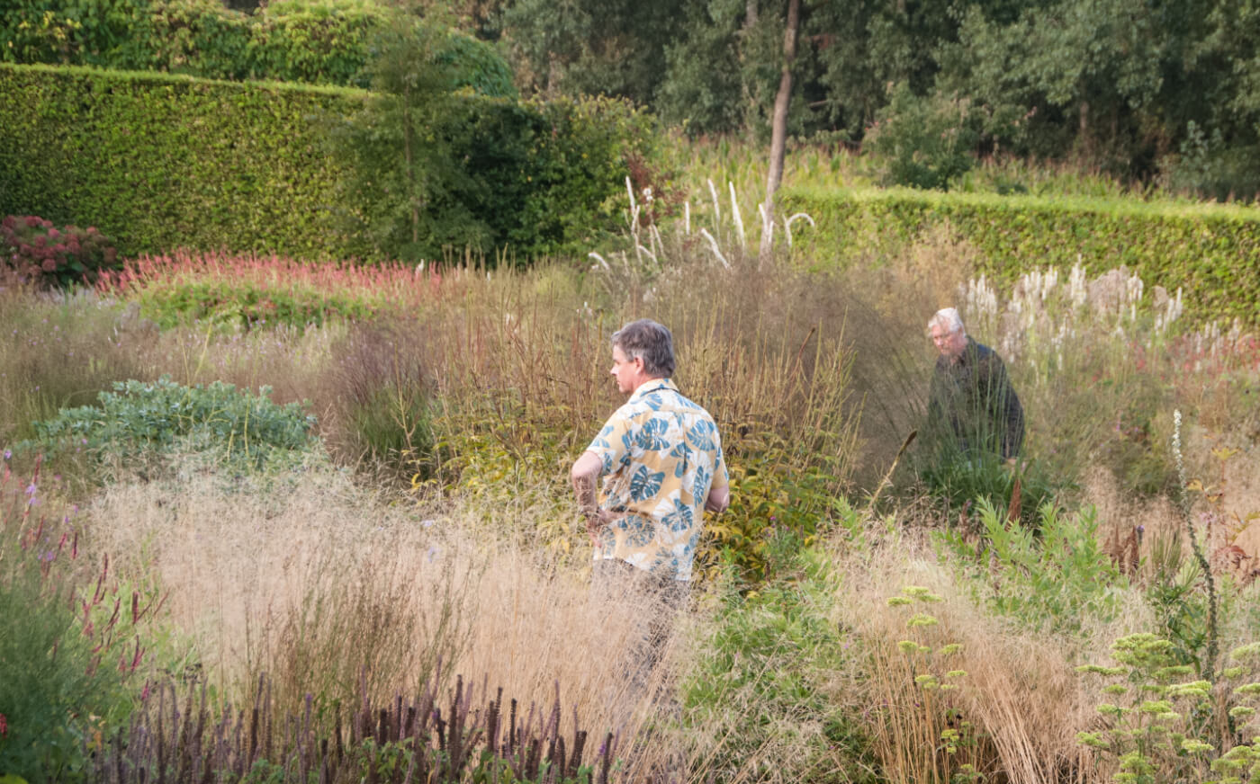 Dr Noel Kingsbury and Piet Oudolf, In Piet's Garden at Hummelo