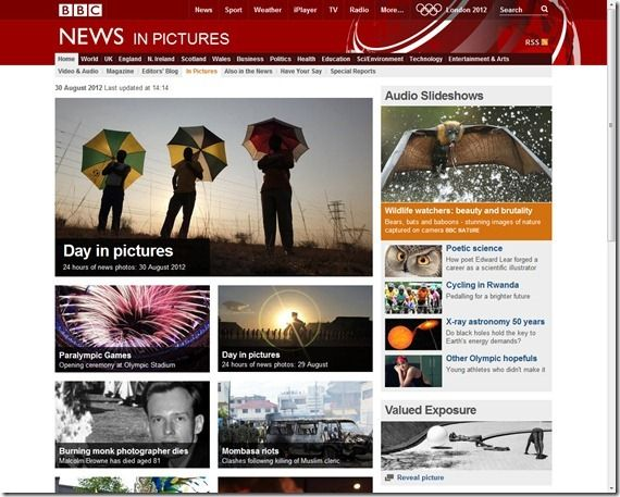 BBC News In Pictures