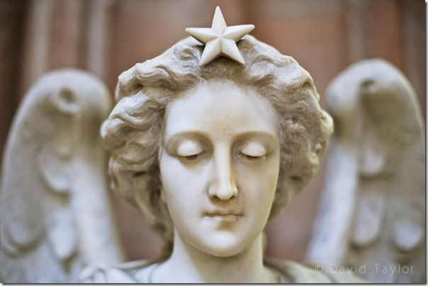 The face of a Marble statue of an angel used to dispense holy water in the St. Patrick's Roman Catholic cathedral in Armagh, County Down, Northern Ireland, Camera lens, Camera lenses, Prime lens, Prime lenses,