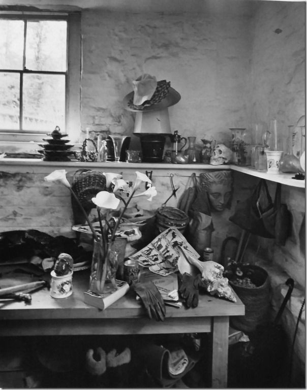 Kertesz, Cecil Beaton Studio, England, 1948. The Estate of Andre Kertesz 2015, Courtesy James Hyman Gallery, London