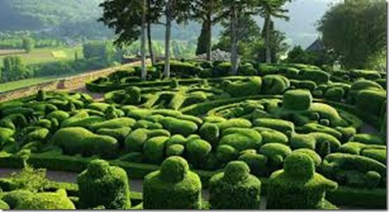 The Overhanging Gardens of Marqueyssac, Vézac, France