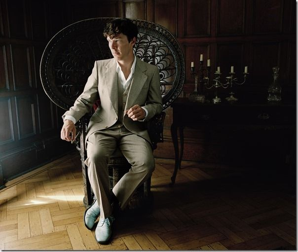 06_ Press Images l Work, Rest and Play, Spencer Murphy, Benedict Cumberbatch, 2010