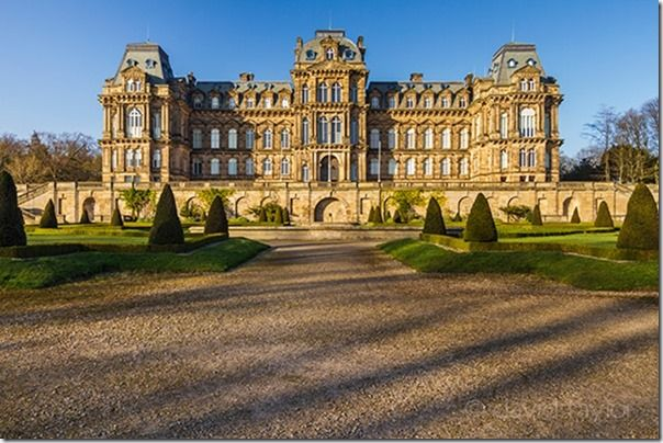 Bowes Museum in Barnard Castle, County Durham. The museum was built by John and Joséphine Bowes in the 19th Century, Shadows, Creative use of  Shadows, shadows in your photography, light, contrast, Nigel Hicks Photography, online photography courses,
