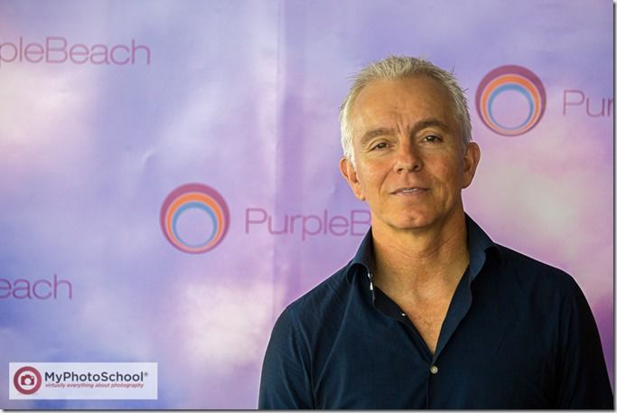 Event Photography, PurpleBeach, #PurpleBeach, MyPhotoSchool, David Taylor, #PurpleBeachLaunch, Annemie Ress