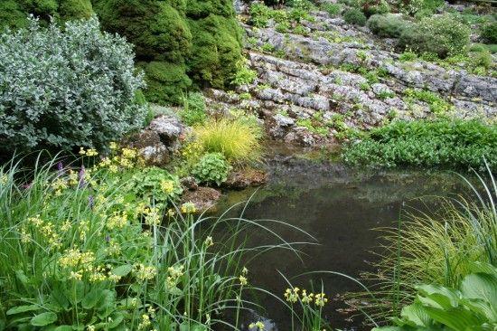 Yorkshire crag garden