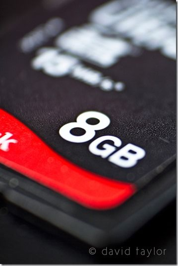 Sandisk 8Gb SD ultra II memory card, Planning a photography shoot, Forward planning, Packing