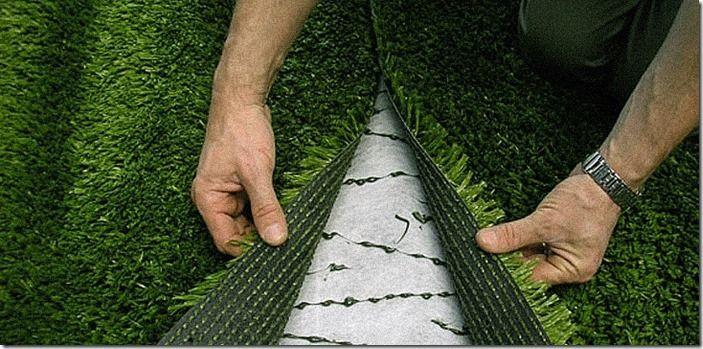 7 Installing artificial grass