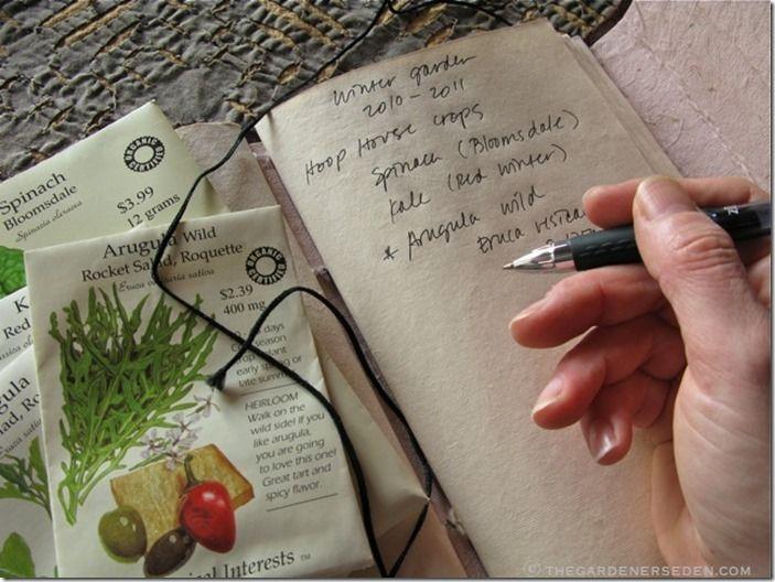 6 Gardeners journal
