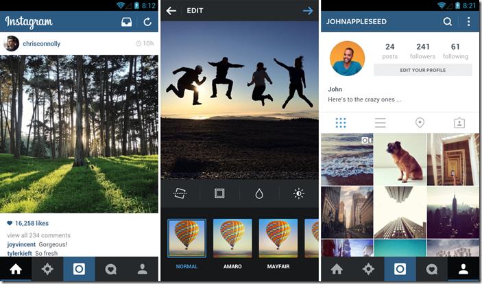 Instagram-Update