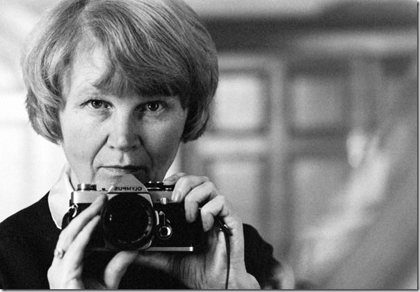 Jane Bown a self portrait c1986