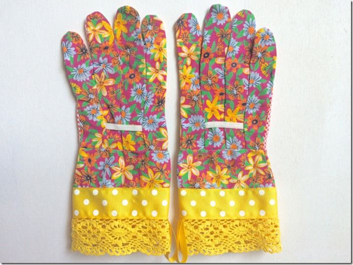 7 Designer floral gloves