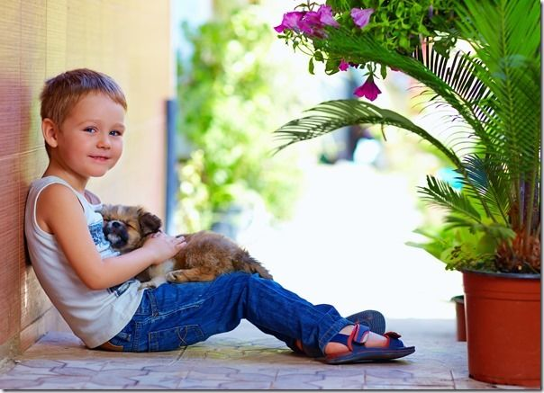 How to Photograph Kids And Their Pets