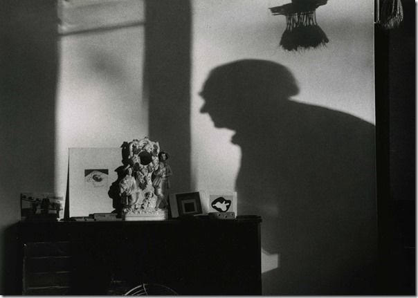 Kertesz, Henry Moore Shadow. The Estate of Andre Kertesz 2015, Courtesy James Hyman Gallery, London