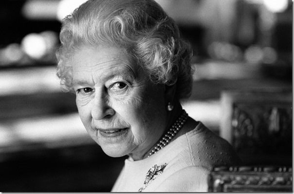Queen Elizabeth II, photographed in 2006 for her 80th birthday. It was Jane's 80th birthday that same year