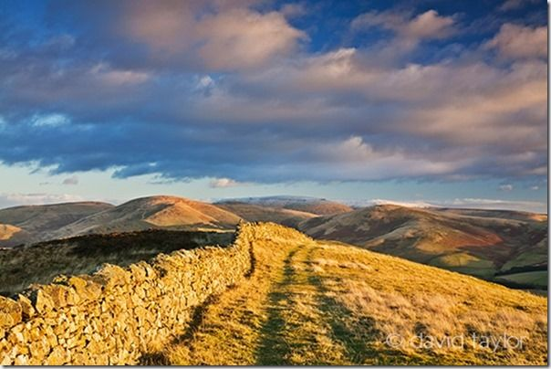 Dry-stone wall running along the summit of Wideopen Hill in the Scottish Borders. The path is part of the route of the St. Cuthbert's Way long distance trail, How to Create a Photobook, how to make a photobook, Photobook,