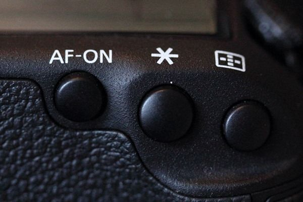 AF-ON Button on Camera, AE-L, AF-L, AF ON, What, how, Metering, controls, mode, Info button, Live View (LV), Camera Buttons,