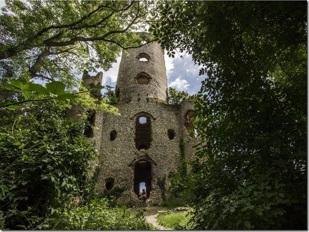 Racton Ruin by Dave Hamilton