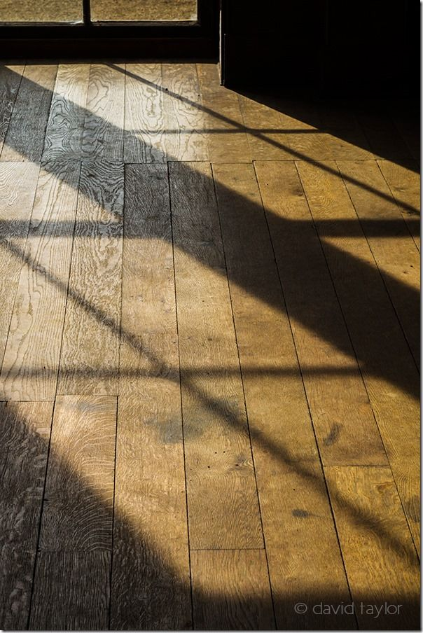 Shadows on the wooden floor of Belsay, a property in the care of English Heritage, Northumberland, England, Shadows, Creative use of  Shadows, shadows in your photography, light, contrast, Nigel Hicks Photography, online photography courses,