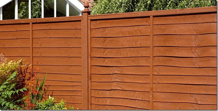 2 Typical fence colour