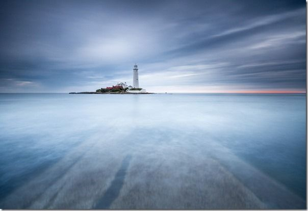 Sliver - St Mary's Lighthouse, North Tyneside, England