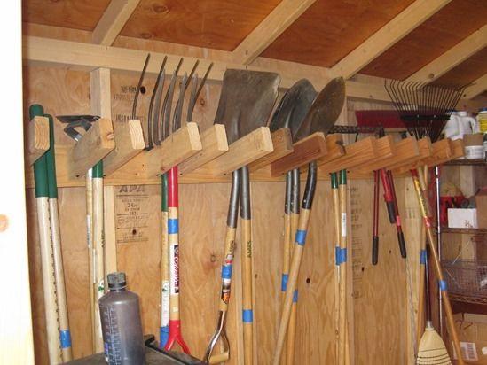 4 Tidy garden tools
